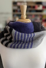 Nina Chicago Double Infinity Striped Cowl Kit