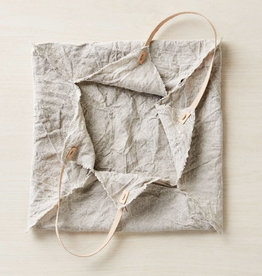 Cocoknits Rustic Linen Four Corner Bag-Medium