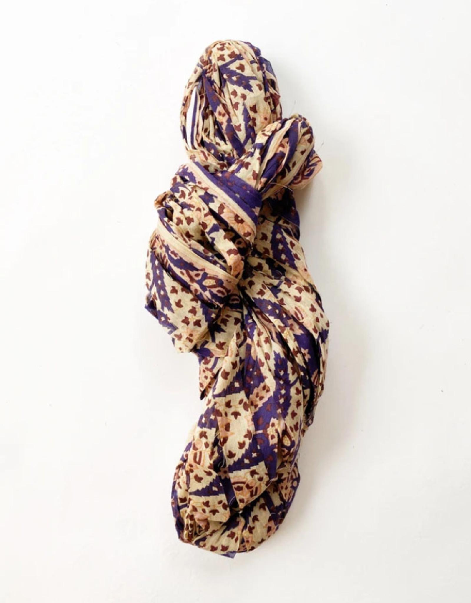 Knit Collage Wildflower