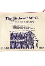 Hikoo Kitchener Stitch Zip Pouch