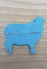 Katrinkles Darning Tapestry Needle on Felt Sheep