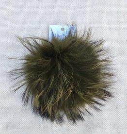 Big Bad Wool Raccoon Pom
