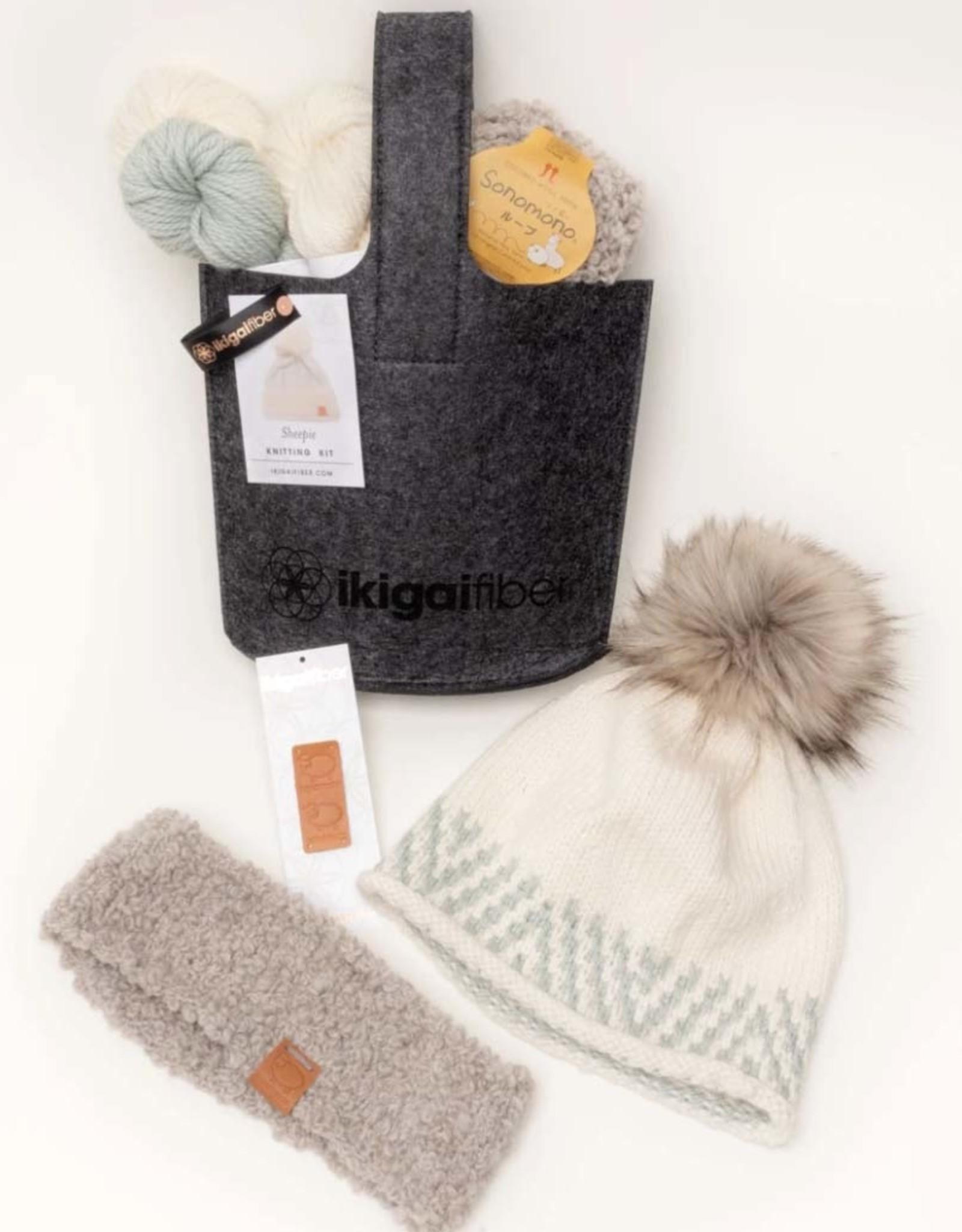 Ikigai Fiber Sheepie Hat Kit