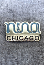 Nina Chicago Enamel Pin