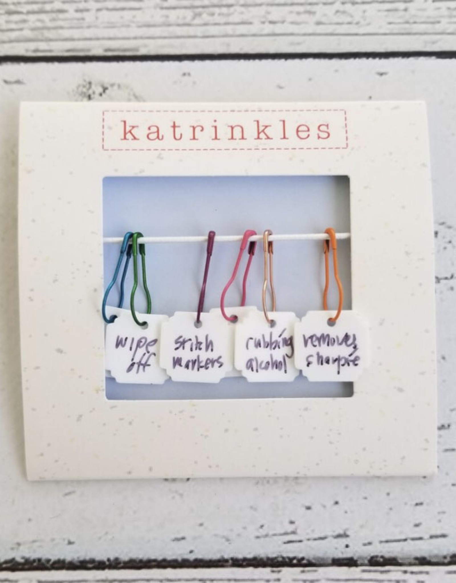 Katrinkles Write On Wipe Off Acrylic Stitch Markers