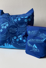 Yarn Crawl Project Bag 2021 Chicago Blues