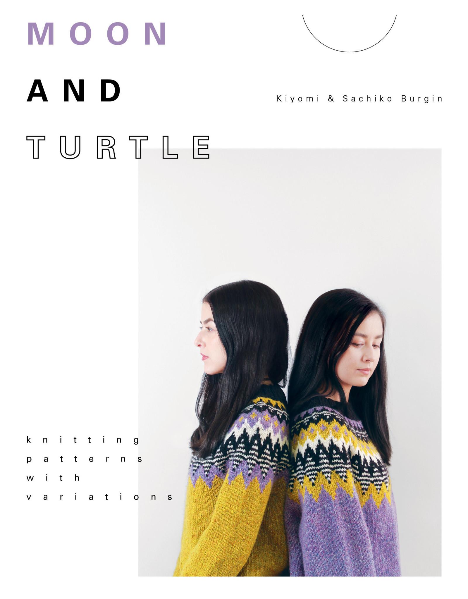 PomPom Magazine Moon and Turtle