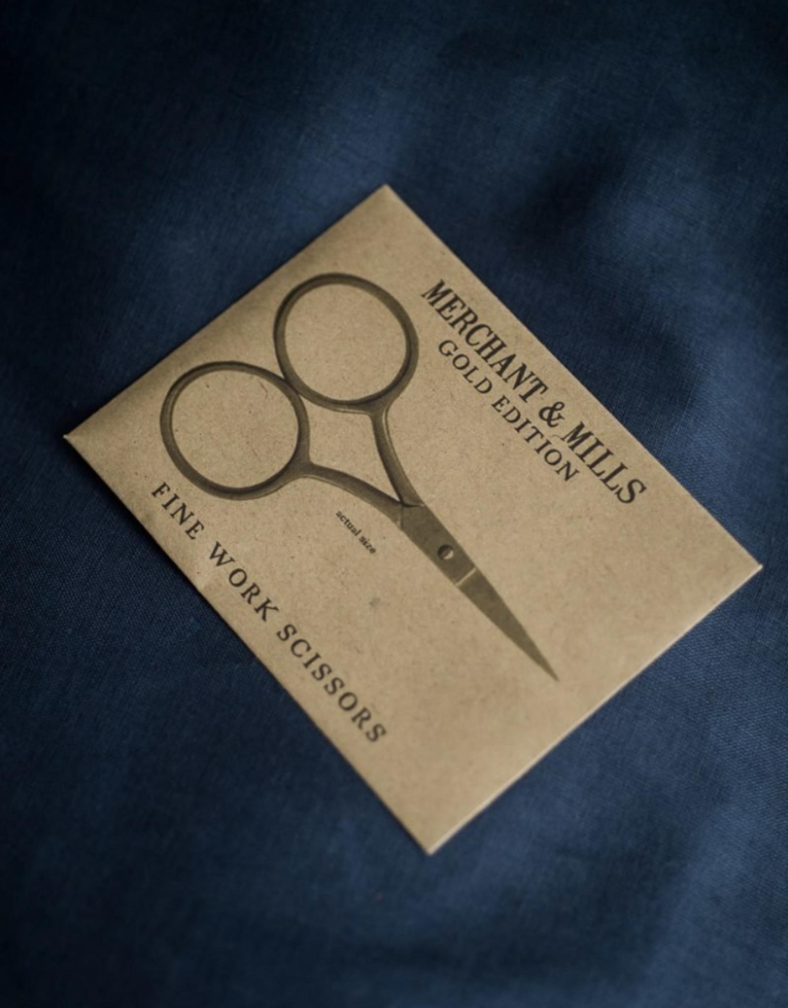 Merchant & Mills Fine Work Scissors - Gold Edition