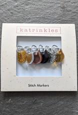 Katrinkles Fancy Cats Stitch Markers