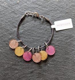 Katrinkles Mirror Knit Stitch Marker Bracelet