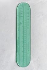 Katrinkles Socks Rule! Nina Chicago Measuring Ruler