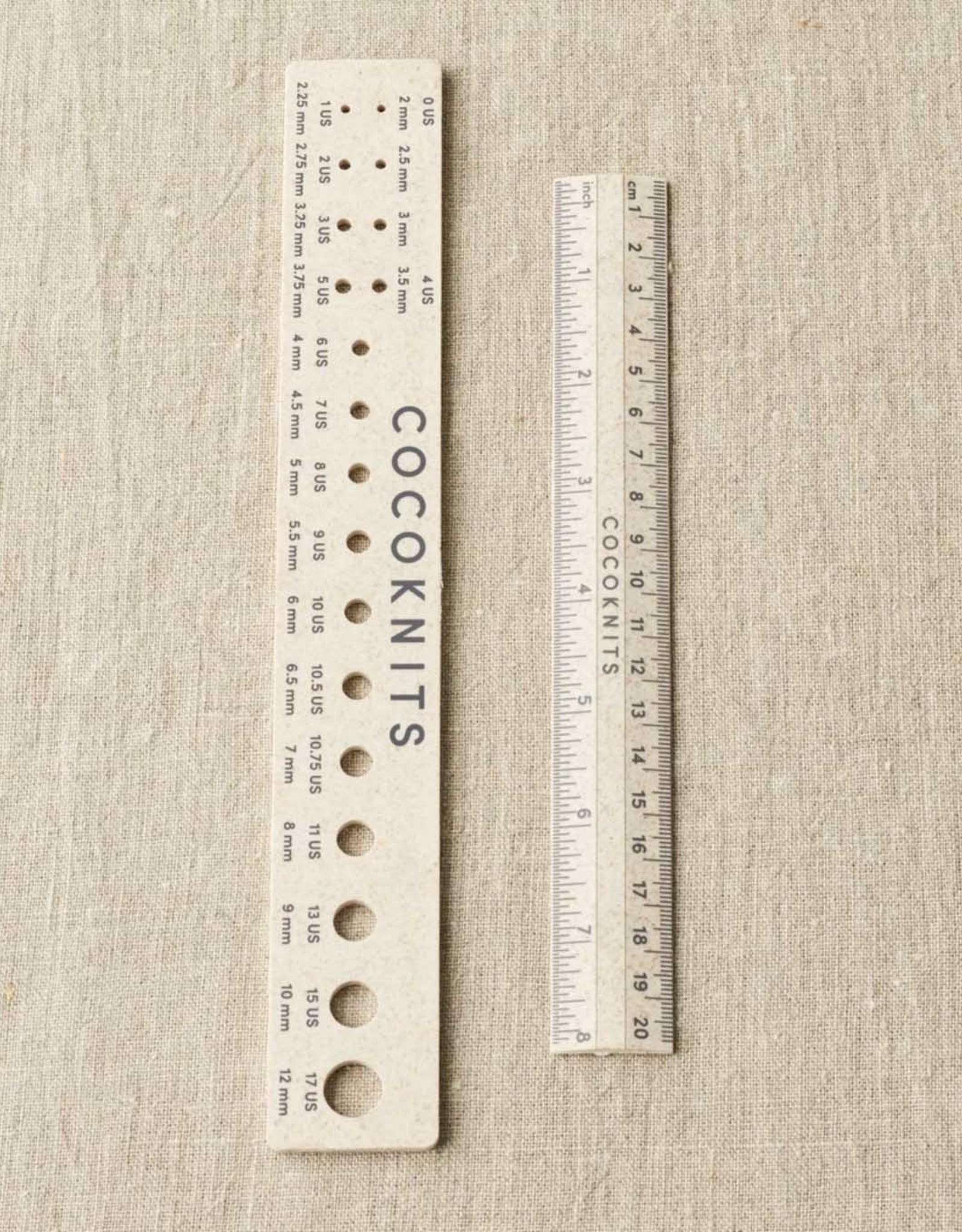 Cocoknits Ruler and Gauge Set