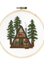 Stranded Stitch Cross Stitch Kit