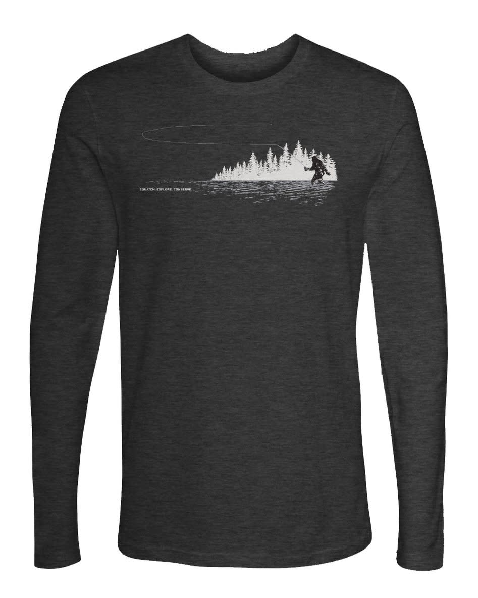 REP YOUR WATER REPYOURWATER TIGHT LOOPS L/S SQUATCH T-SHIRT