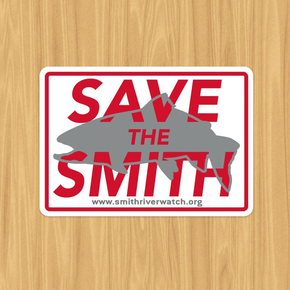 """REP YOUR WATER REP YOUR WATER - """"SAVE THE SMITH"""" Sticker"""