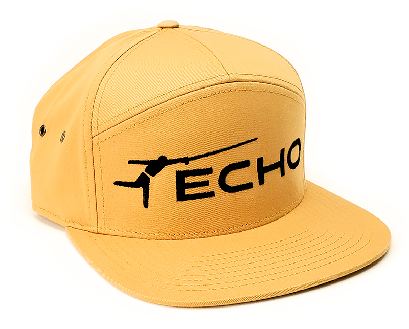 ECHO Echo Logo 7 Panel Hat BISCUIT