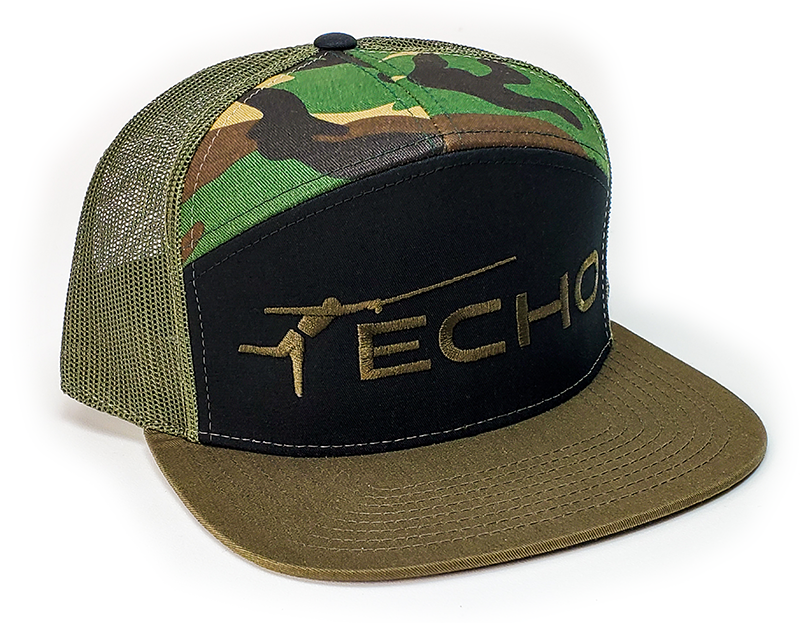ECHO Echo Black n Camo Hat