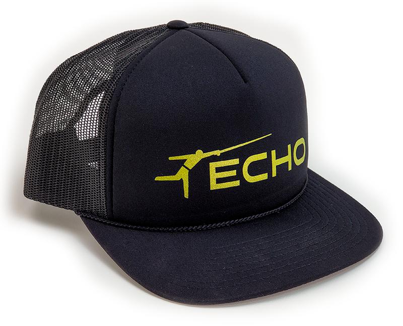 ECHO ECHO Trucker FOAM BLACK w/Gold Logo