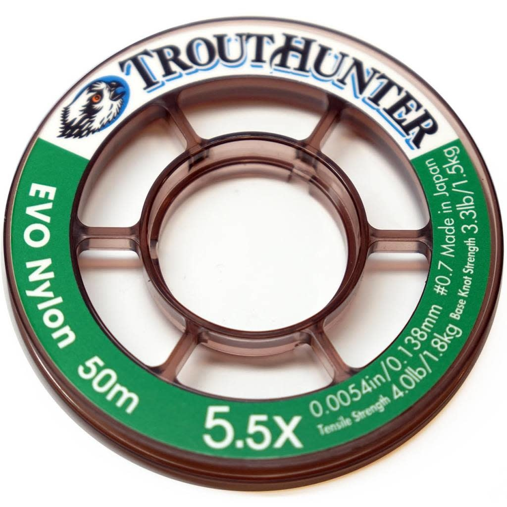 TROUTHUNTER TH EVO Nylon Tippet 7X