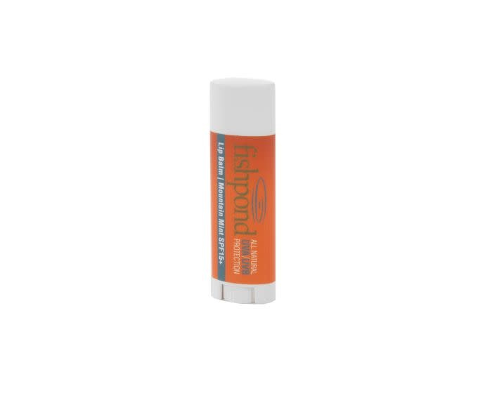 FISHPOND FISHPOND ORGANIC LIP BALM  SPF15 - MOUNTAIN MINT