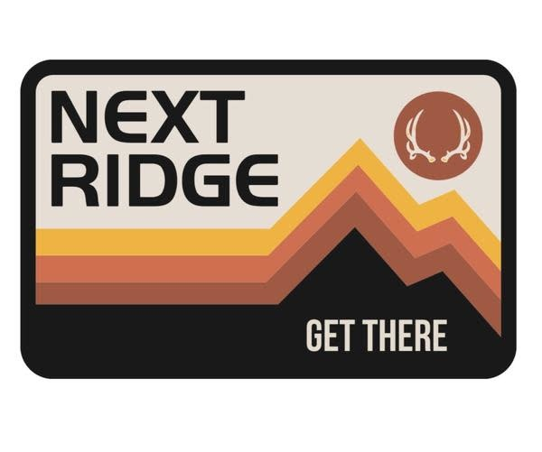 NEXT RIDGE APPAREL NEXT RIDGE KEVIN- VINYL STICKER