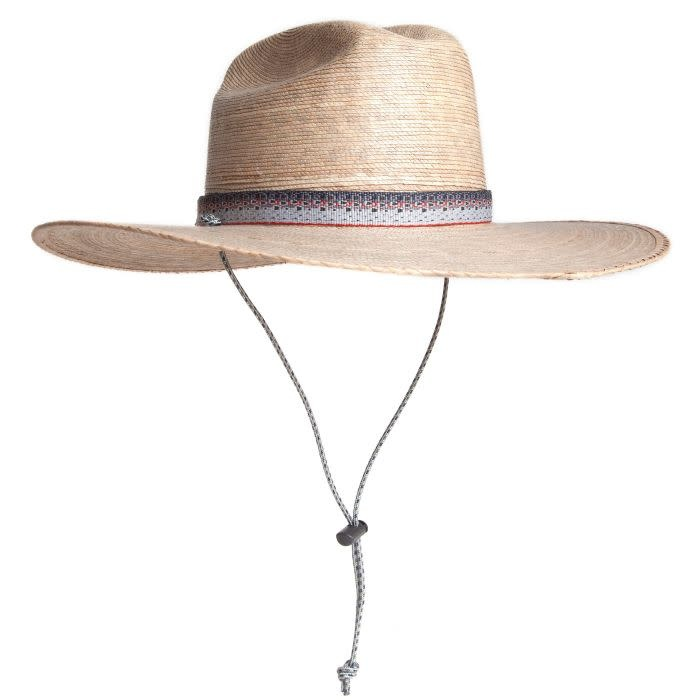 FISHPOND FISHPOND LOWCOUNTRY PALM LEAF HAT
