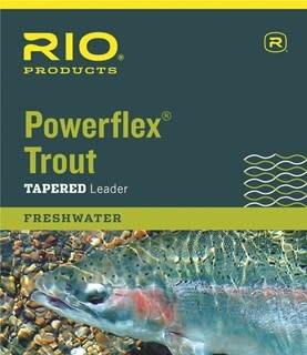 RIO RIO POWERFLEX TROUT LEADERS