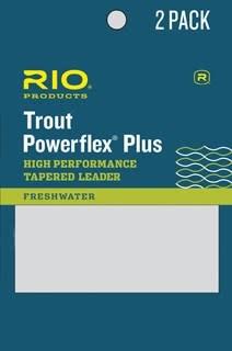RIO RIO TROUT POWERFLEX PLUS TAPERED LEADERS