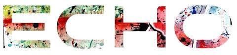 "ECHO ECHO STICKER RAINBOW Trout 8"" x 2"""
