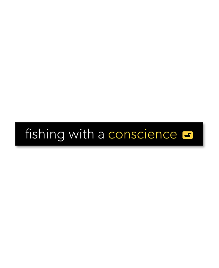 LOON OUTDOORS LOON OUTDOORS Fishing With A Conscience Sticker