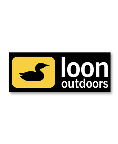 LOON OUTDOORS LOON Logo Sticker