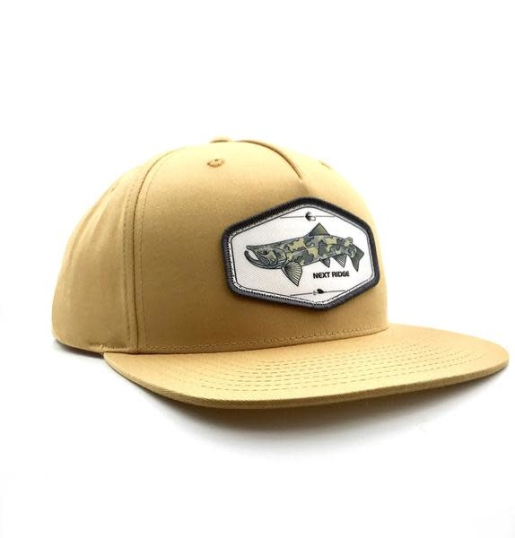 NEXT RIDGE APPAREL BREEZER TROUT HAT - BISCUIT