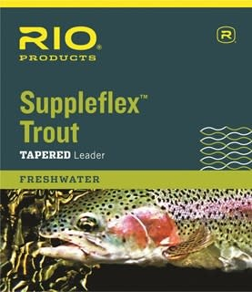 RIO RIO Suppleflex TROUT Tapered Leader