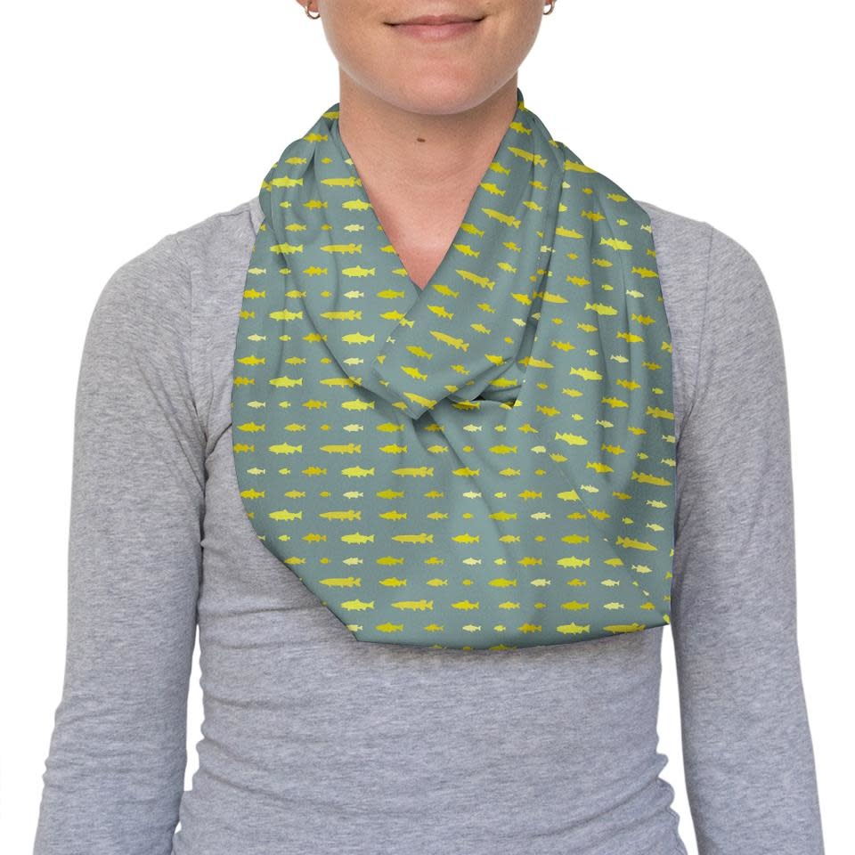 REP YOUR WATER REPYOURWATER FRESHWATER INFINITY SCARF