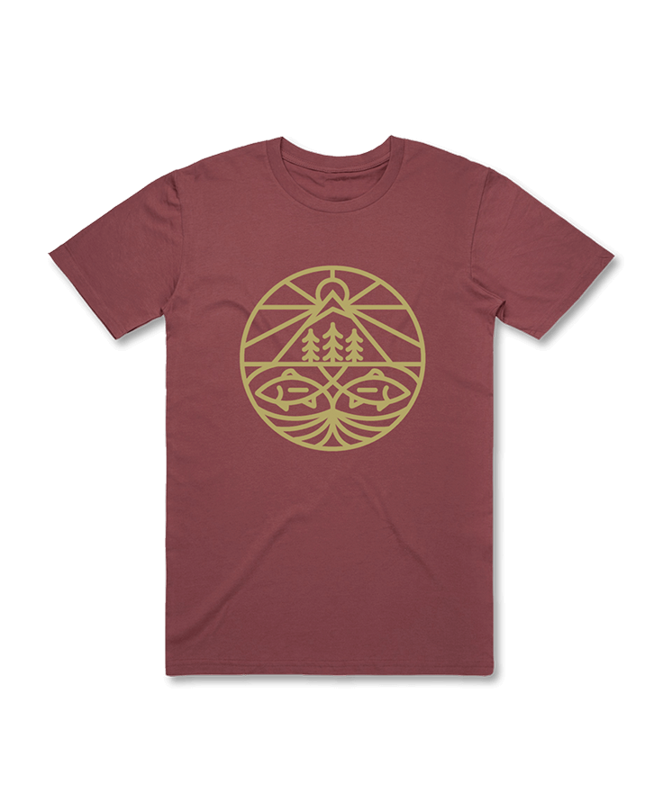 LOON OUTDOORS LOON STAINED GLASS T-SHIRT