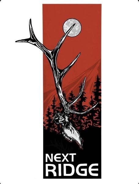NEXT RIDGE APPAREL NEXT RIDGE ELK DEADHEAD  L/S TEE