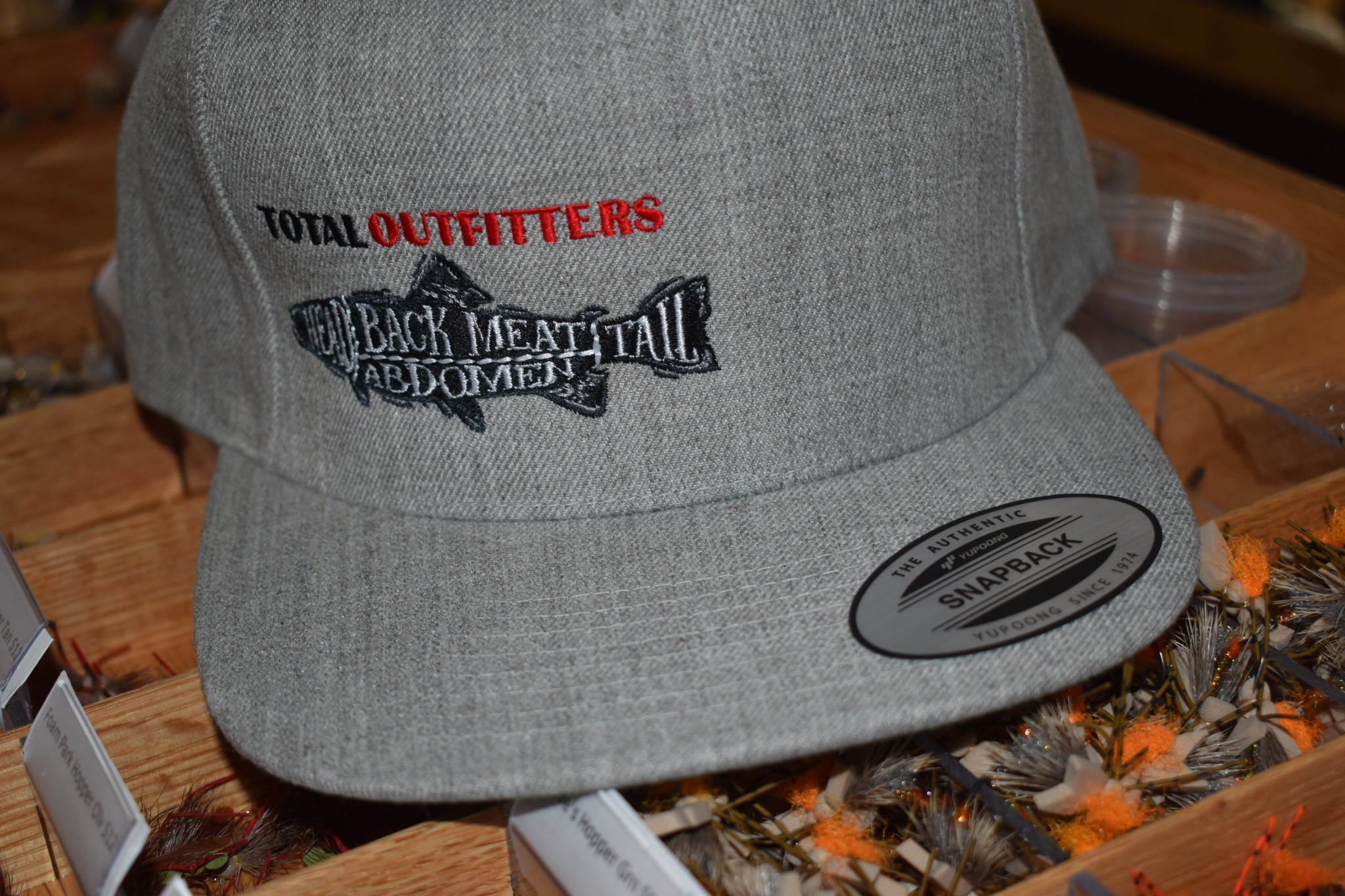 YUPOONG TOTAL OUTFITTERS LOGO CAP