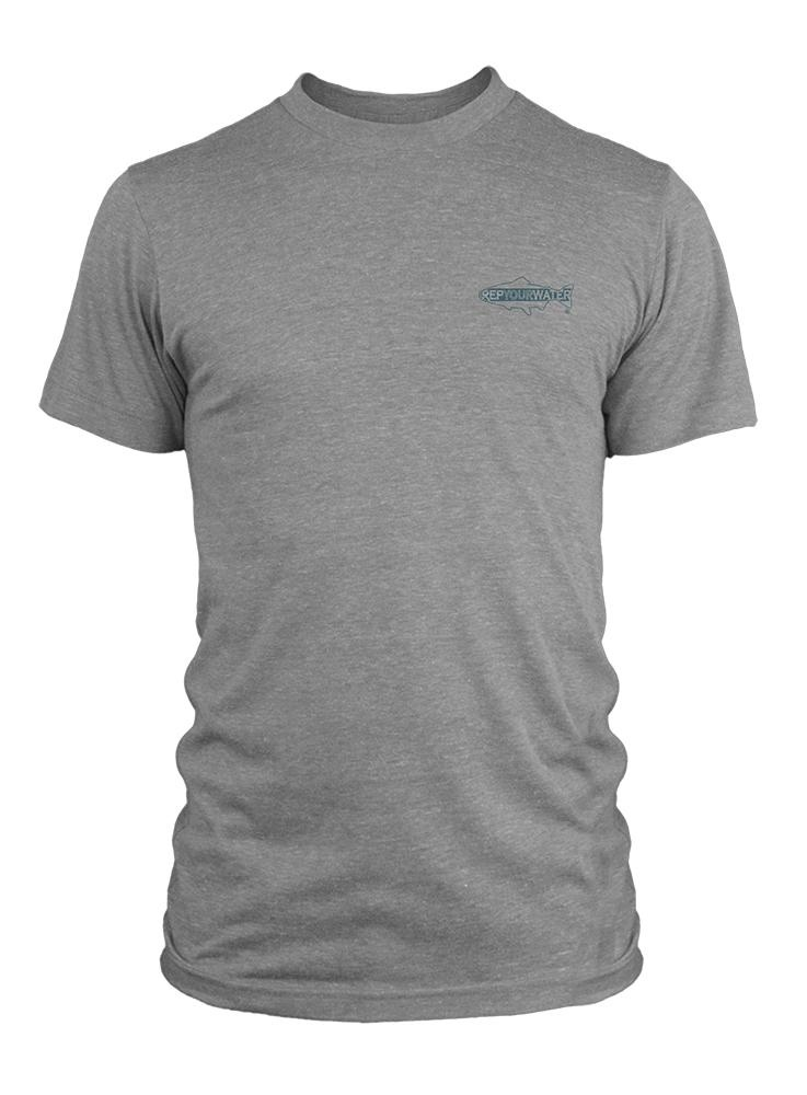 REP YOUR WATER REPYOURWATER SWIMMING SPINE T-SHIRT