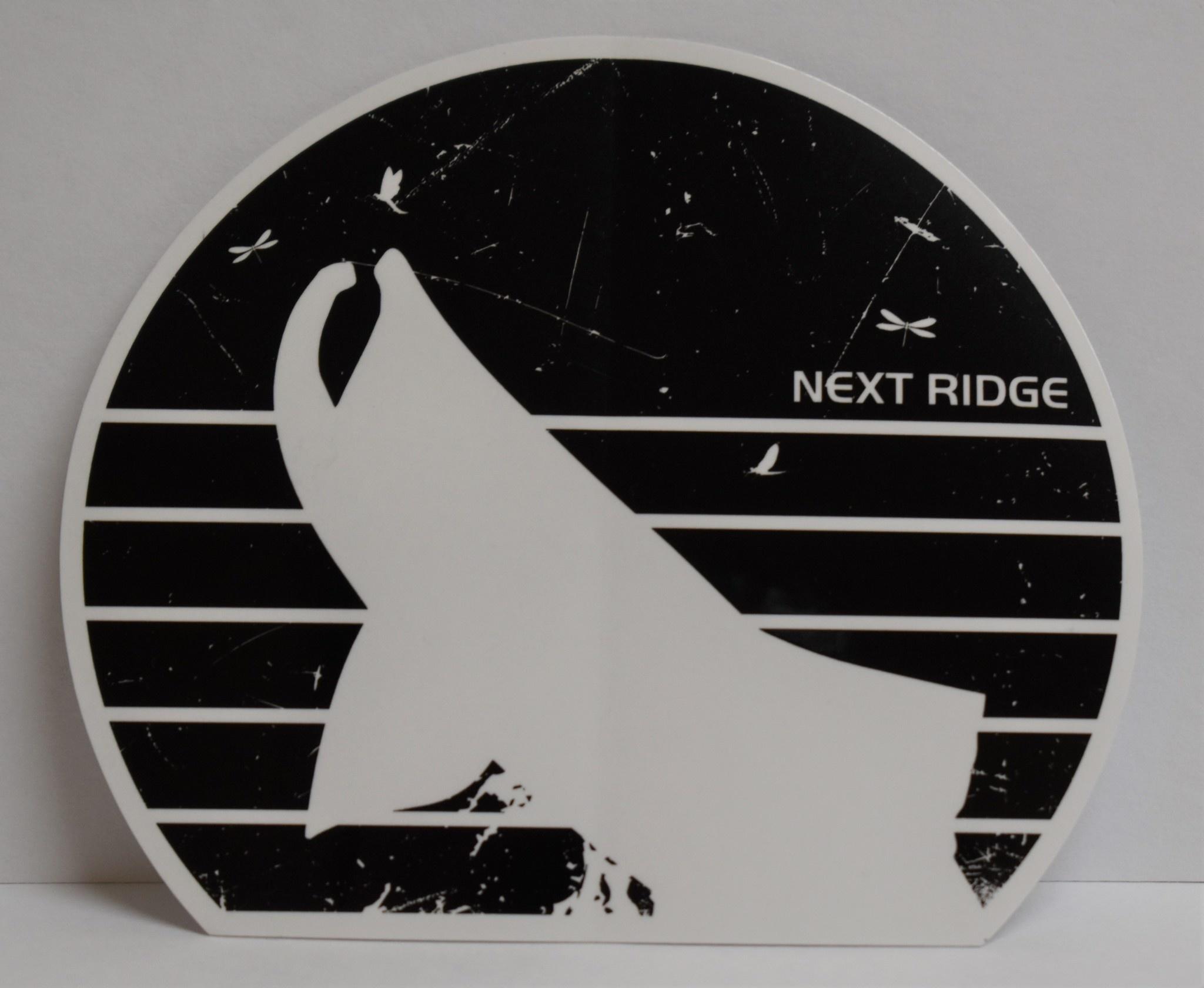 NEXT RIDGE APPAREL NEXT RIDGE HATCH- VINYL STICKER