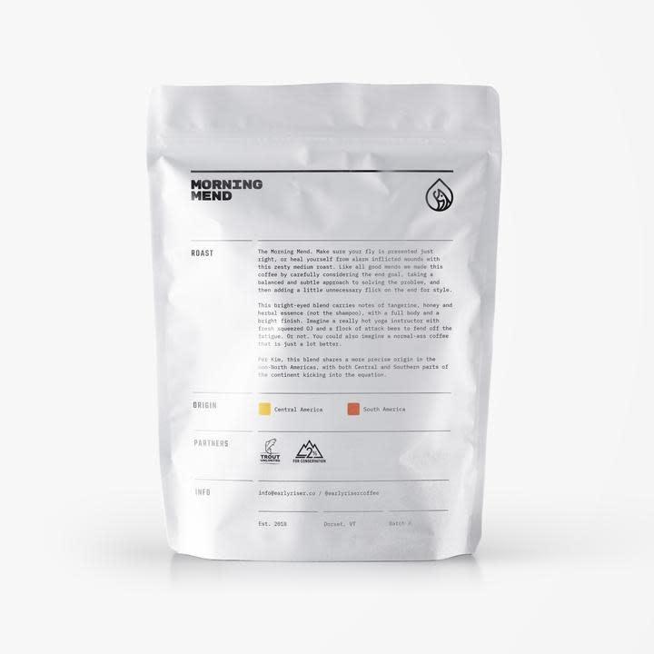 EARLY RISER COFFEE ROASTERS MORNING MEND MEDIUM ROAST COFFEE