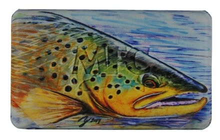 MFC MFC FLYWEIGHT FLY BOX - HALLOCK'S BROWN TROUT