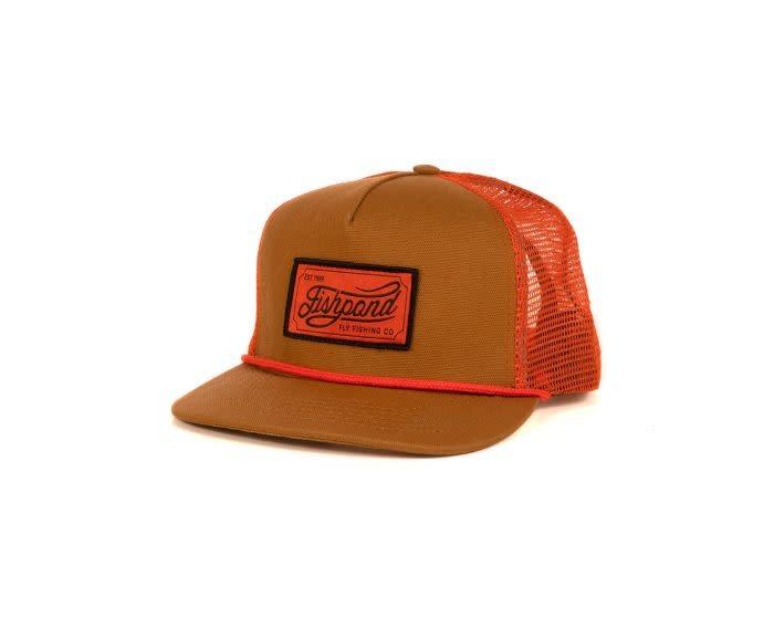 FISHPOND FISHPOND HERITAGE TRUCKER HAT