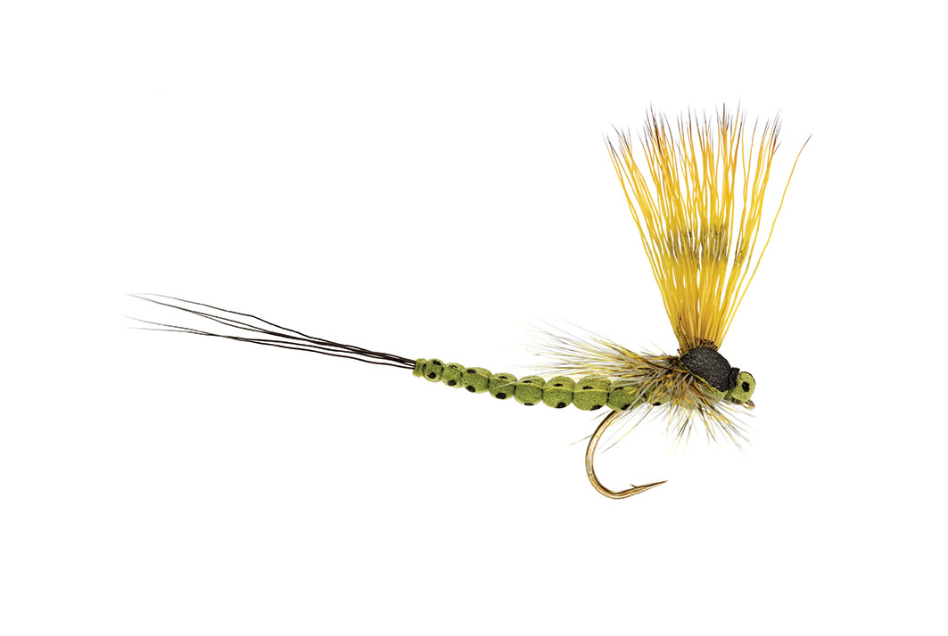 FULLING MILL Mohican Mayfly Olive S10