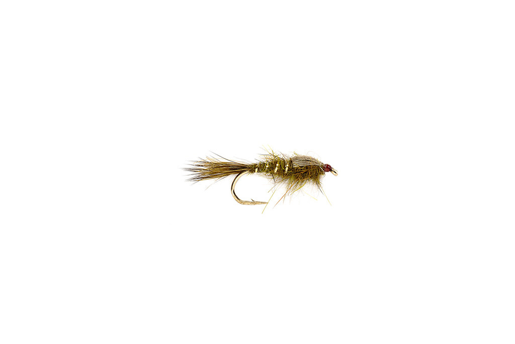 FULLING MILL FM Olive Hare's Ear Nymph [Single]