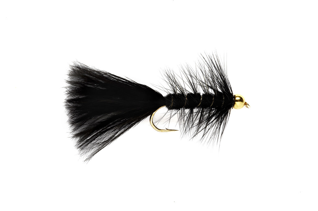 FULLING MILL BH Woolly Bugger Blk S4