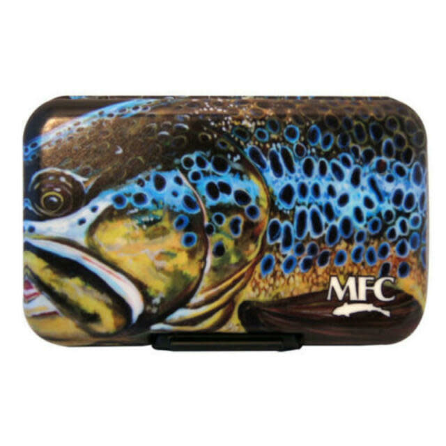 MFC MFC POLY FLY BOX - UDESEN'S MONTANA BROWN