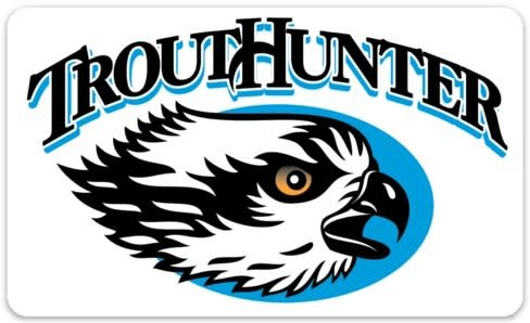 TROUTHUNTER Trout Hunter Osprey Logo Sticker