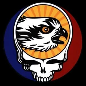 TROUTHUNTER Trout Hunter Steal Your Face Sticker
