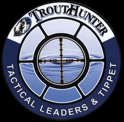 TROUTHUNTER Trout Hunter Tactical Leaders & Tippets Sticker