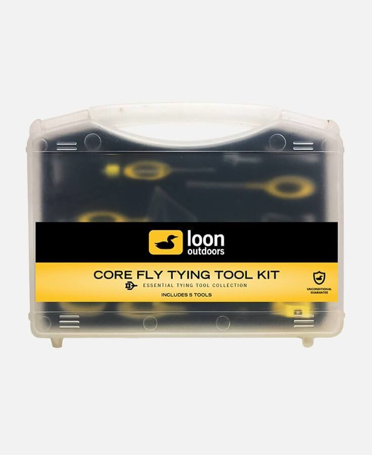 LOON OUTDOORS LOON Core Fly Tying Tool Kit